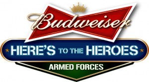 Armed Services Budweiser Logo