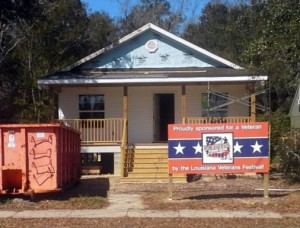 2015 East St. Tammany Habitat for Humanity Veterans Build Home