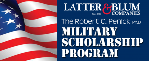 military scholarship logo final latter blum